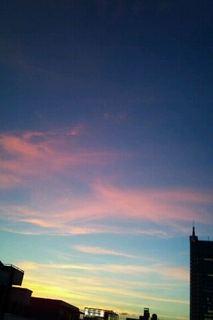 幸せ色の夕景